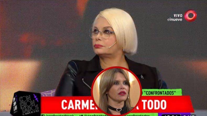 Carmen Barbieri letal contra Nazarena Vélez: Es una mitómana; mentirosa; se cree el ombligo del mundo, esta hundiendo a su hija