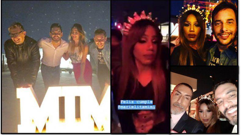 Las fotos del cumpleaños de Mimi: karaoke, amigos y look con coronita