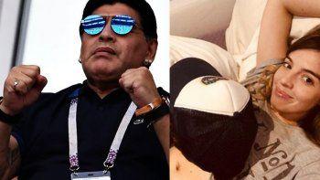 ¿Cuándo se enteró Diego Maradona del embarazo de Dalma?