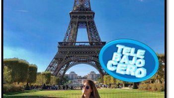 Marina Calabró pasea por París con su novio y a su regreso se sumaría a la pantalla de El Trece