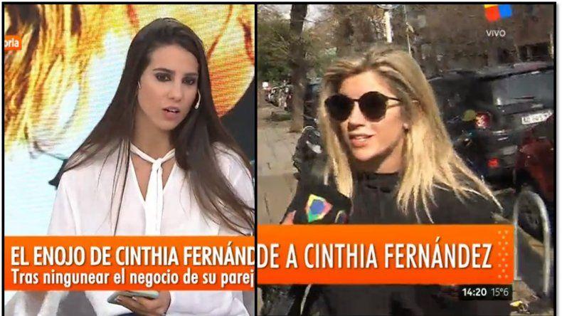 Cinthia Fernández liquidó a Laurita: Es de nariz parada, tiene una actitud de subida al pony
