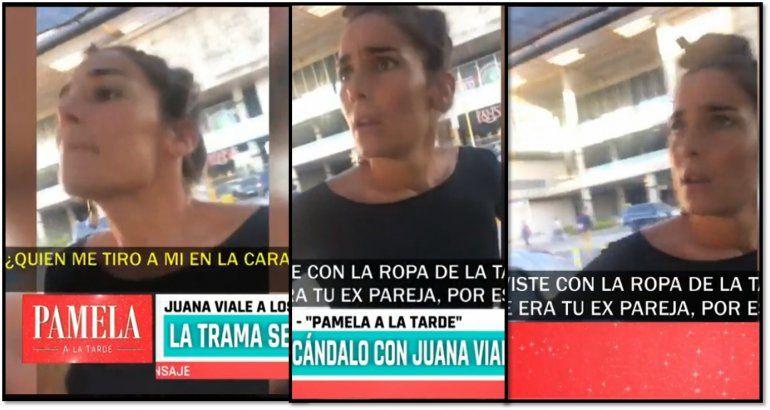 Juana Viale a los gritos en un confuso episodio con una chica trans