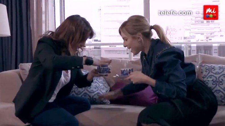 La desopilante escena de Carla Peterson y Nancy Dupláa drogadas en 100 días para enamorarse