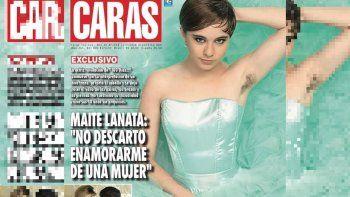 Polémica tapa de Caras con Maite Lanata