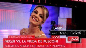 Otro audio filtrado: Nequi Galotti habló pestes de la mujer de su ex marido; Es una put... amenaza a mis hijos