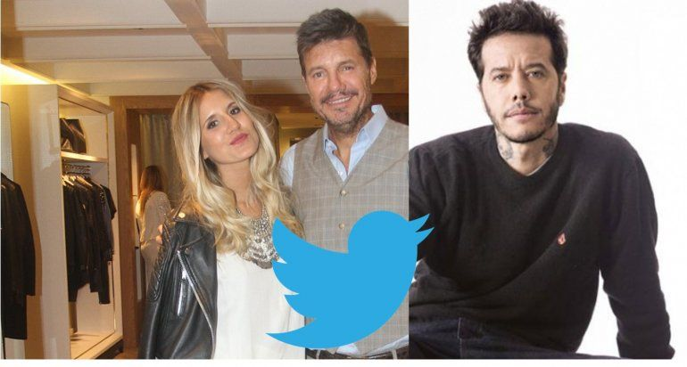 El curioso emoji que tuiteó Micaela Tinelli por los palos de Ortega a su papá