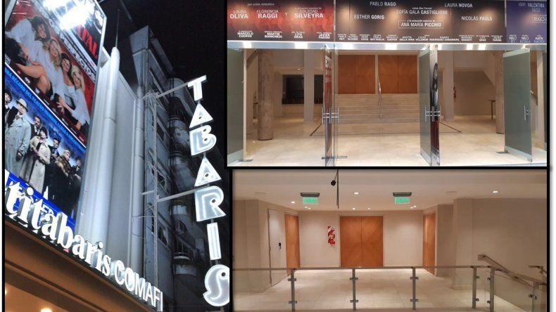 Todo listo para la inauguración del Multitabarís Comafi, con tres salas teatrales