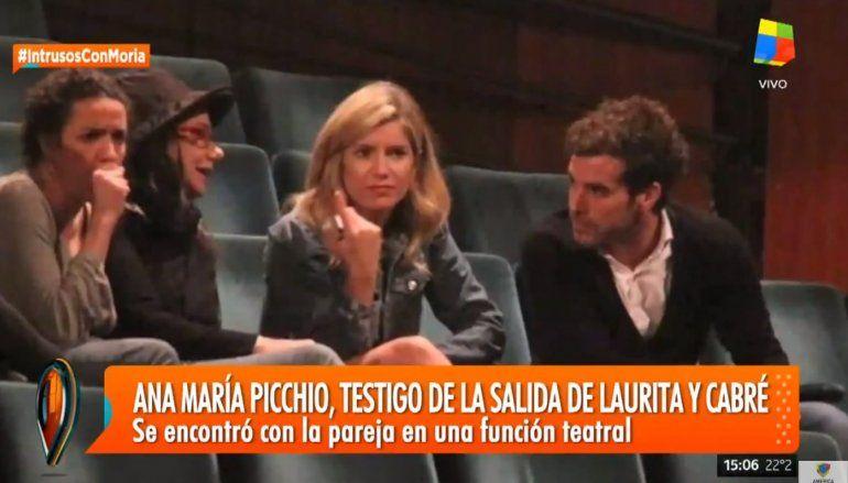 Ana María Picchio contó detalles de la relación de Cabré y Laurita: Él está muy enamorado