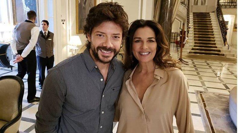 Famosa actriz argentina se declaró fan de el profesor de La casa de papel y lo corrió en un festival internacional
