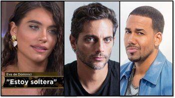 Eva de Dominici enfrentó los rumores de una relación con Romeo Santos cuando salía con Furriel