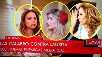 El mensaje de Laurita que hizo explotar de bronca a las hermanas Calabró