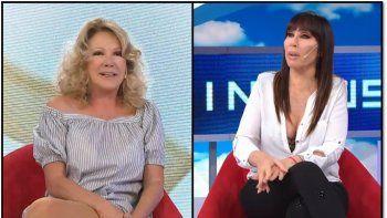 Moria Casán y Soledad Silveyra se dijeron todo en la cara