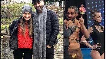 La novia del Pollo Álvarez lo gasta por el tamaño de su miembro: El bulto que no se te vio