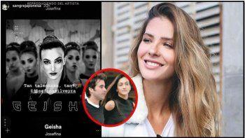 La China Suárez le dejó un piropo en Instagram a la ex novia de Cabré