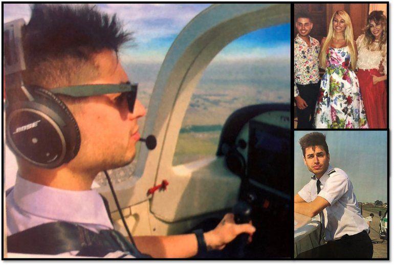 Vicky Xipolitakis se quedó con las ganas de manejar un avión, pero  su hermano estudia para piloto