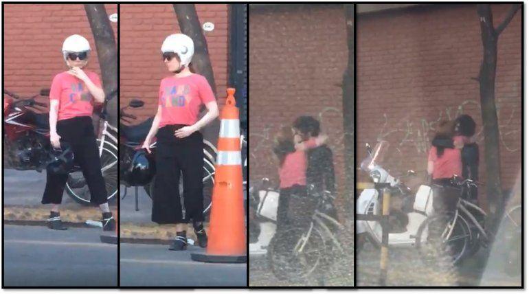 El video de Agustina Kämpfer y su novio a los besos en la calle: ¿se viene el compromiso?