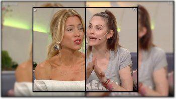 Tremenda pelea en Cortá por Lozano entre Nicole Neumann y Connie Ansaldi