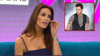 La modelo Carolina Molinari acusó a Axel de echarla de un video por ser mas alta que él