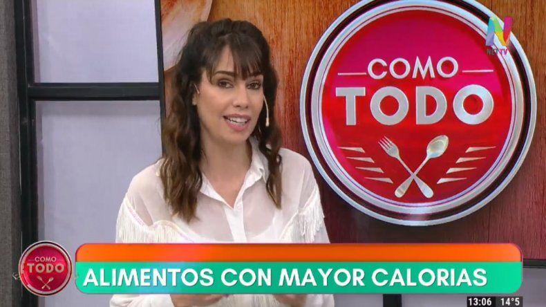 Romina Pereiro, la novia de Rial debutó en el nuevo canal de aire NET TV