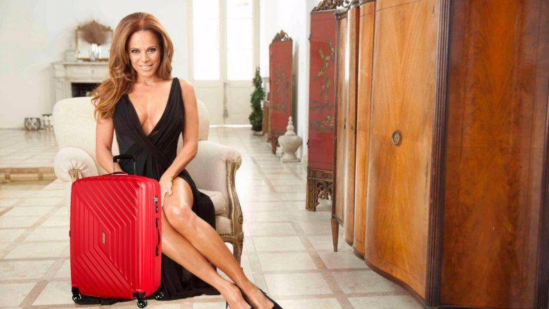 Iliana Calabró furiosa con la producción de Mi vecina favorita por la pérdida de una valija