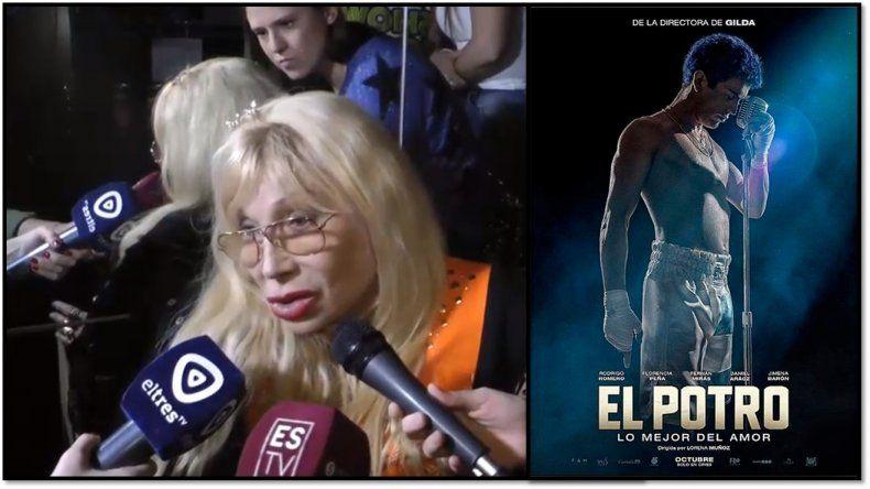 La palabra mas buscada; Betty Olave vio la película de Rodrigo y dijo que le pareció