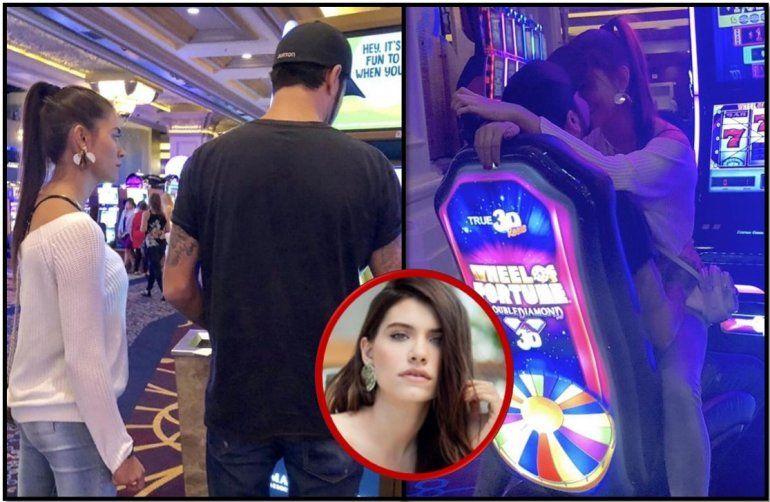 Las imágenes de Eva de Dominici a los besos con un nuevo amor en Las Vegas: ¿quién es?