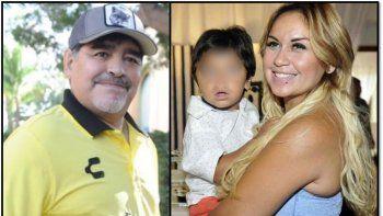 Maradona quiere sacarle la tenencia de su hijo Diego Fernando a Verónica Ojeda