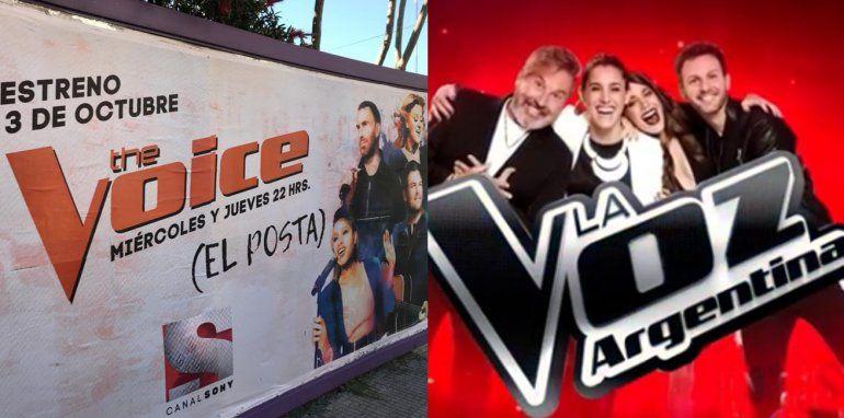 Insólito chiste de The Voice, ¿Será para La Voz Argentina la mojada de oreja?