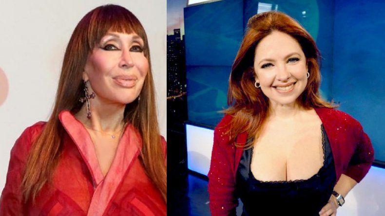 Finalmente, antes que con Mirtha, Andrea del Boca estará con Moria Casán