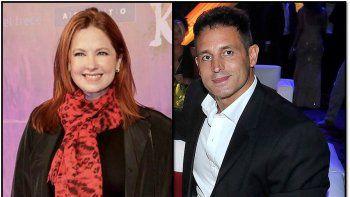 Rumores sobre romance entre Andrea del Boca y su abogado