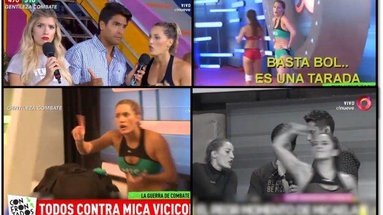 Los enemigos de Mica Viciconte mostraron videos de ella maltratando a una compañera