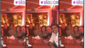 la foto que prueba el romance entre adrian suar y la brasilena maria bopp