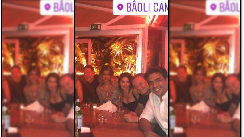 La foto que prueba el romance entre Adrián Suar y la brasileña María Bopp