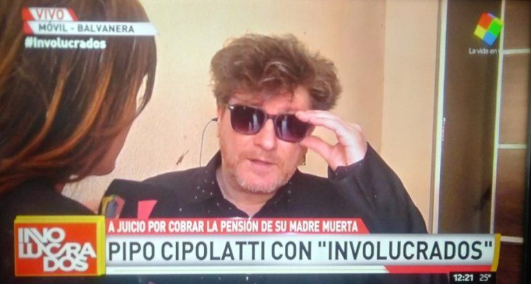 Pipo respondió a las críticas por cobrar la jubilación de su mamá fallecida: Me dijeron que la siga cobrando