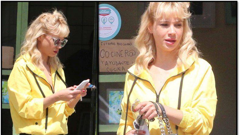 El cambio de look de Celeste Cid para interpretar a Susana en la serie de Monzón