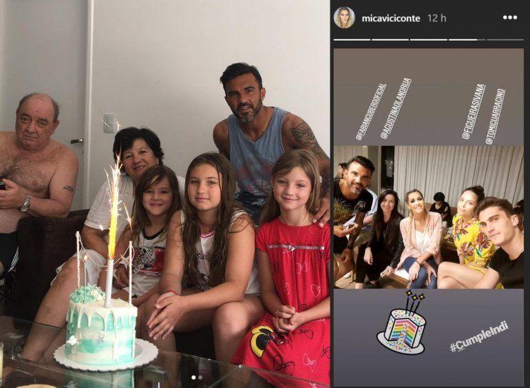 Indiana Cubero cumplió años, pero no se mostró junto a Mica Viciconte en las fotos: ¿pedido expreso de Nicole?
