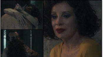 la fuerte escena de sexo de nacha guevara en morir de amor