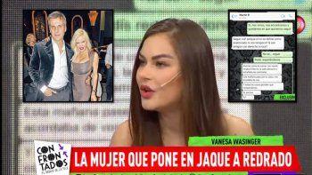 La ex nuera de Redrado lo hundió en tv:  Me quiso ver a escondidas; el hijo me contó de sus brujerías a Salazar