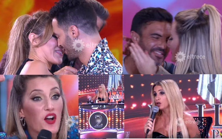 En una noche de besos de Mica y Cubero y Jimena Barón con Caiazza, la pelea de Viciconte y Flor Peña opacó el amor