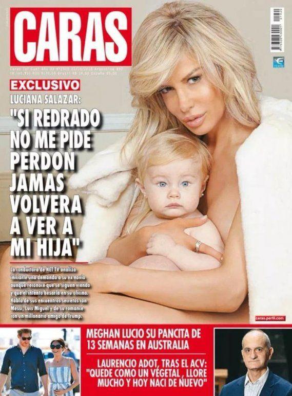 Luciana Salazar furiosa con la revista Caras: La hice hace 2 meses; hoy las cosas son distintas