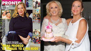 Marcela Tinayre y un reclamo a Mirtha: Mamá priorizó el trabajo
