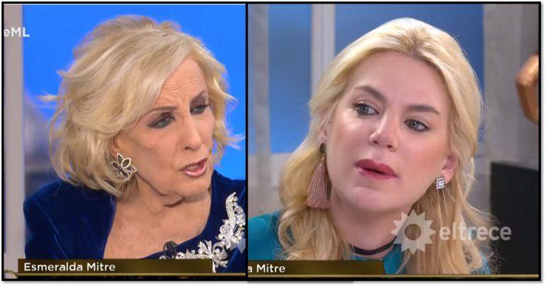 Esmeralda Mitre destrozó a Mirtha Legrand y la llamó envidiosa, resentida y ordinaria conmigo