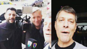 Ventura y varios periodistas furiosos con Pergolini: lo acusan de burlarse de los cronistas que lo esperaban bajo la lluvia