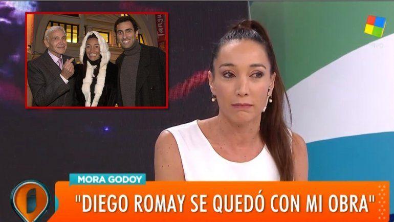 Mora Godoy acusa a su ex Diego Romay de robarle su creación: Registró Tanguera a su nombre y se quedó con la obra