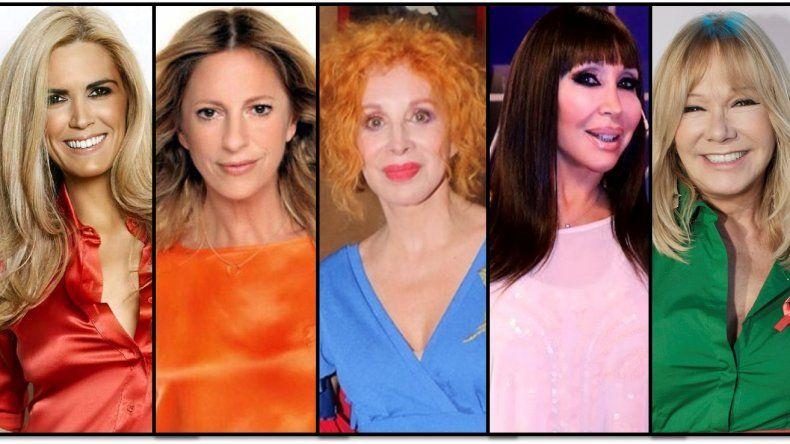 Nacha,  Canosa, Claudia Fontán y Soledad Silveyra los nombres que suenan para reemplazar a Moria en sus vacaciones