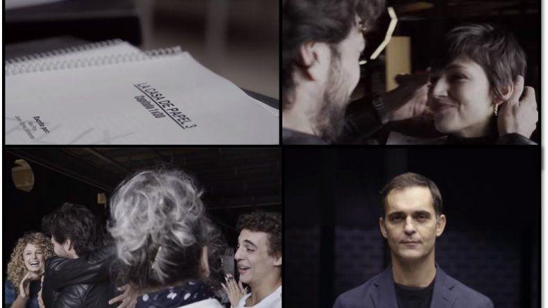 Presentaron al nuevo elenco de La Casa de Papel: los que vuelven, los que se van y los nuevos