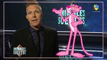 El video de Alejandro Fantino con la música de la Pantera Rosa que se hizo viral