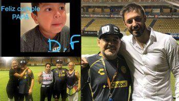 Diego cumple 58 años y lo festeja con Rocío