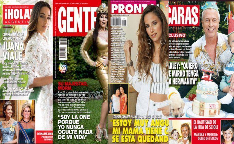 Revistas: El drama de Lourdes Sánchez; Moria contra todos y las tapas de la semana