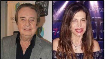 Santiago Bal y la ex de Veronelli